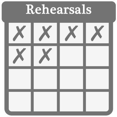Rehearsals cal